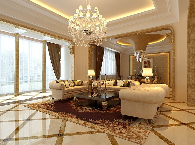 经典欧式大宅-美兰湖吴先生家装设计方案(上海)